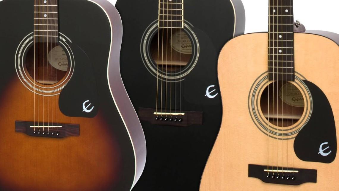 guitarra acústica epiphone dr100 para comenzar a tocar