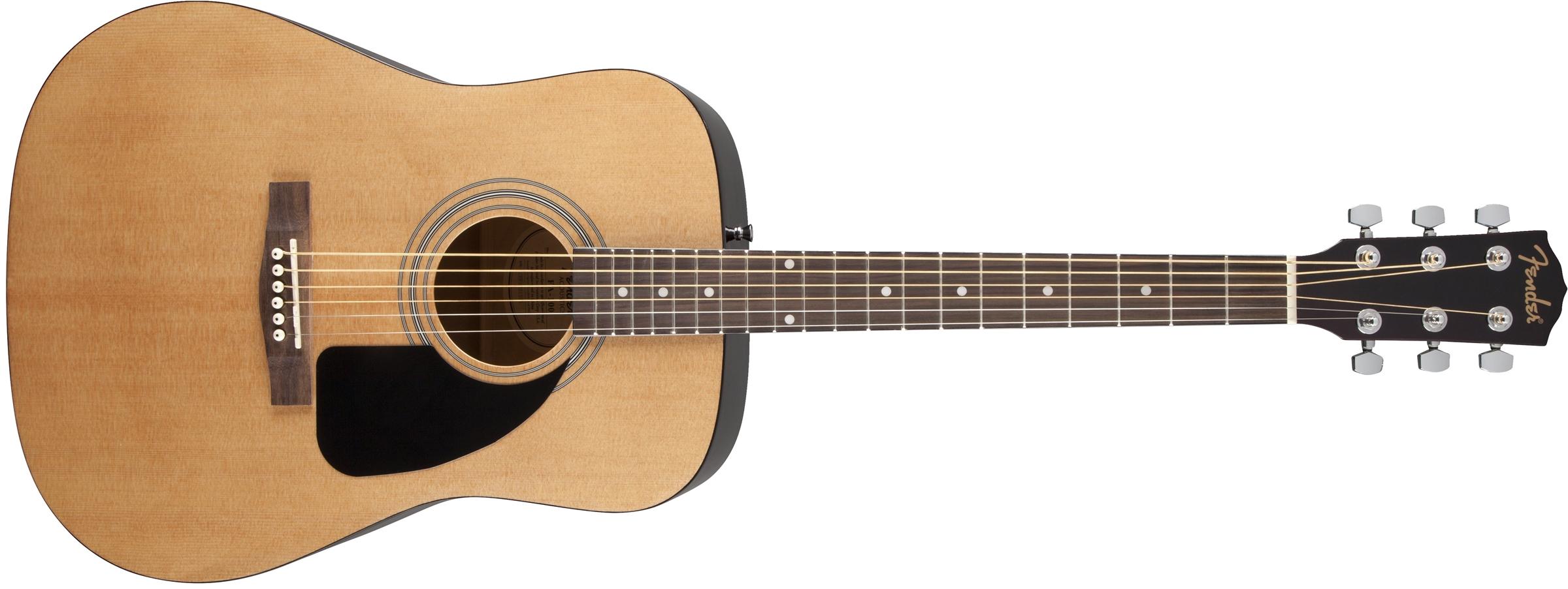 Fenderfa100 vs yamaha fg800 guitarras para principiantes